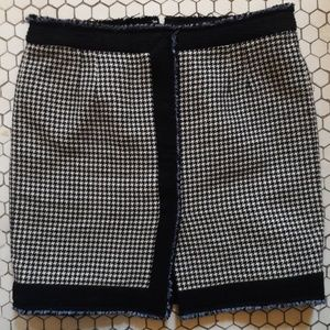 Balenciaga Skirts - Balenciaga Houndstooth Mini-skirt